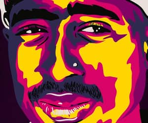 2pac, wallpaper, and art image