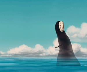 spirited away, gif, and no face image