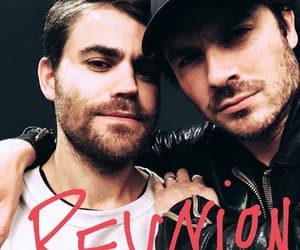 damon, tvd, and reunion image