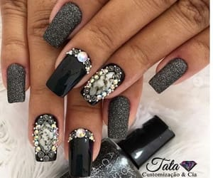 black, lacquer, and matte image