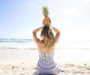 alisha, beach, and marie image