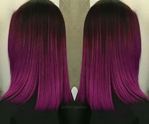 colors, hair, and pink image