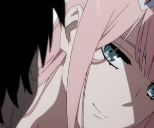 darling in the franxx, anime, and gif image