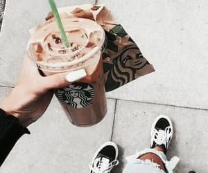 starbucks, coffee, and fashion image