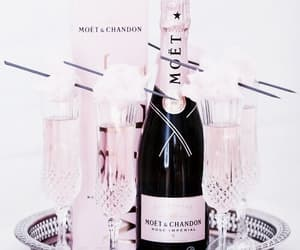 champagne, date, and pink image