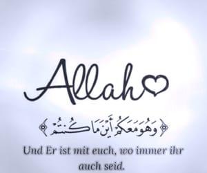 allah, quran, and deutsch image