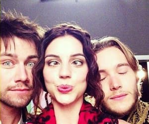 reign, adelaide kane, and torrance coombs image