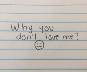 :(, love me, and quote image
