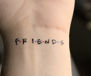 friends, tattoo, and f.r.i.e.n.d.s image