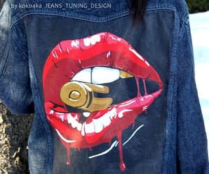 art, denim, and jeans image