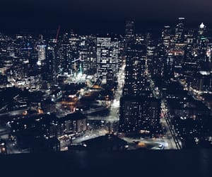 background, city, and night image