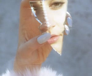 mirror, aesthetic, and nails image
