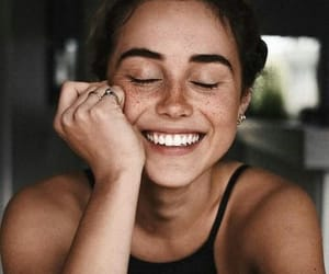 girl, smile, and beauty image
