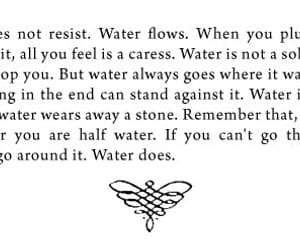 quotes and water image