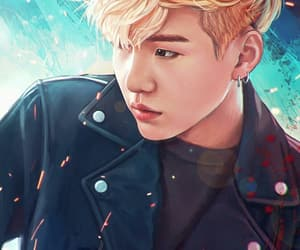fanart, bts, and suga image