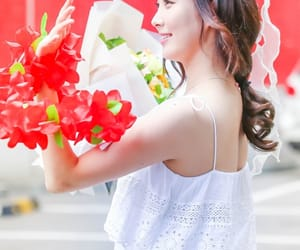 flower crown, flowers, and snsd image