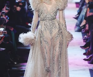 dress, elie saab, and gown image