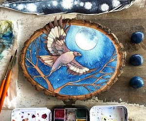 amazing, hawk, and paintings image