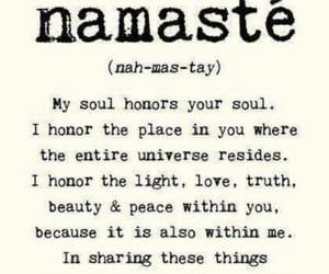 Buddha, harmony, and namaste image