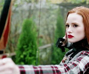 gif, riverdale, and cheryl blossom image