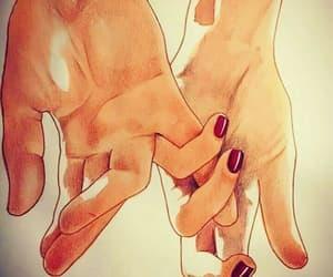 amor, manos, and pareja image