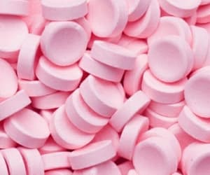 candy, pink, and wallpaper image