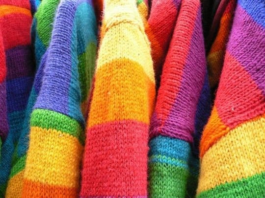 rainbow and sweater image