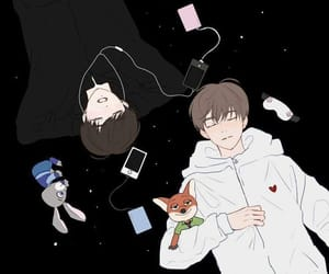 vkook, fanart, and jungkook image