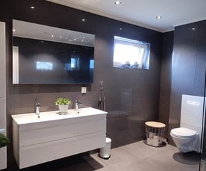 bathroom, home, and décoration image