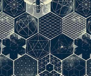 geometric, illustration, and pattern image