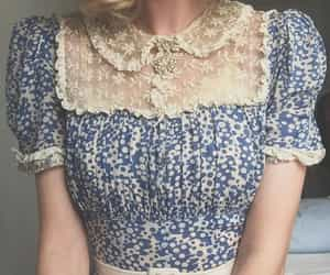 vintage, dress, and cute image