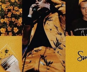header, louis, and yellow image