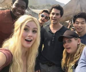 katherine mcnamara, maze runner, and dylan o'brien image