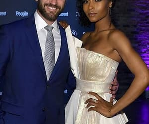colin donnell, chicago med, and yaya dacosta image