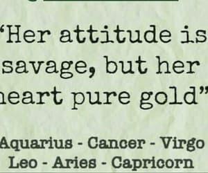 aquarius, aries, and attitude image