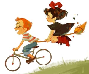 ghibli, movie, and kiki's delivery service image