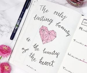 february, heart, and inspo image