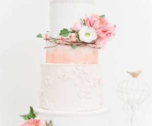 cake, inspiration, and flower image