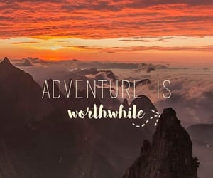 adventure, mountain, and sky image