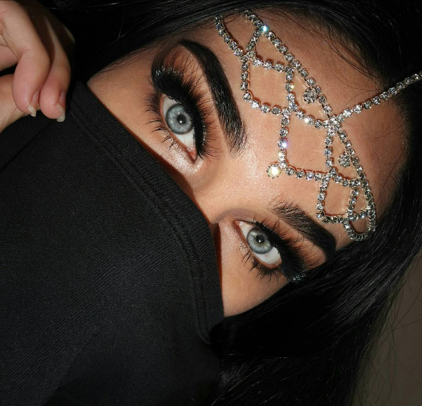 beauty, eyes, and makeup image