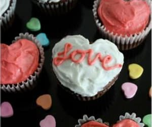 bake, heart, and Valentine's Day image