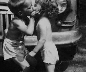 kiss, love, and kids image