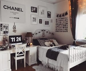bedroom, room decor, and tumblr image