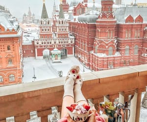 balkon, winter, and cluse image