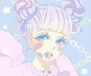 kawaii, anime, and pastel image