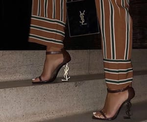 fashion, YSL, and heels image