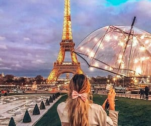 paris, fashion, and lights image