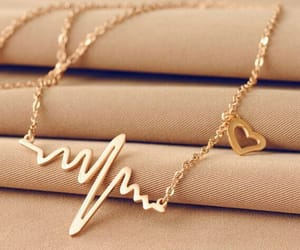 necklace, accessories, and heart image