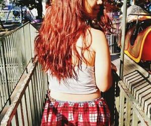 amusementpark, play, and redhead image