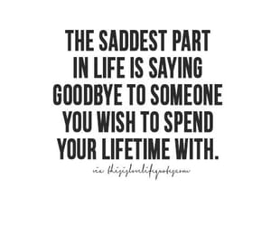 sad, love, and life image